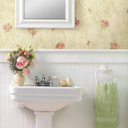 Petunia Light Green Marble Floral 436-65775