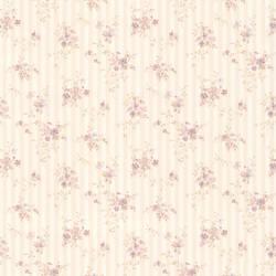 Delilah Mauve Floral Stripe 436-66373