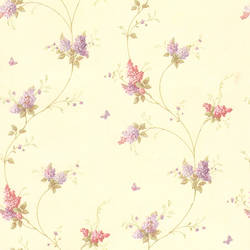 Isabelle Mauve Butterfly Floral Trail 436-66403