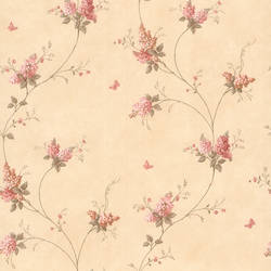 Isabelle Pink Butterfly Floral Trail 436-66404