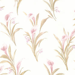 Edith Mauve Satin Lily 436-66606