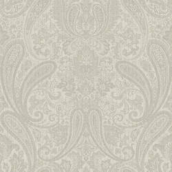 Ludlow Light Grey Paisley MAN01675