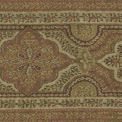 Alfred Rust Paisley Border MAN01862B