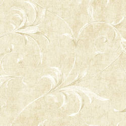 White Ogee Acanthus Scroll HAV40792