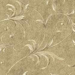 Taupe Ogee Acanthus Scroll HAV40795