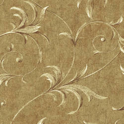 Yellow Ogee Acanthus Scroll HAV40797