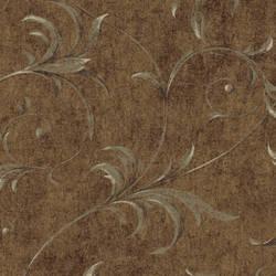 Brown Ogee Acanthus Scroll HAV40798