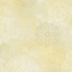 Yellow Henna Medallion HAV40823