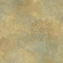Brown Henna Medallion HAV40826