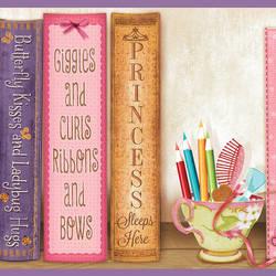 Vivi Purple Sugar and Spice Bookshelf Border HAS01061B