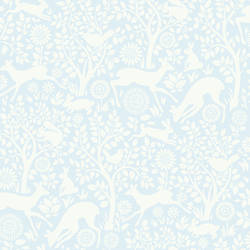 Anahi Light Blue Forest Fauna HAS01233