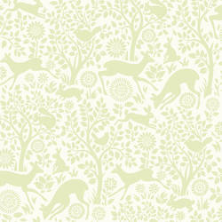 Anahi Light Green Forest Fauna HAS01235