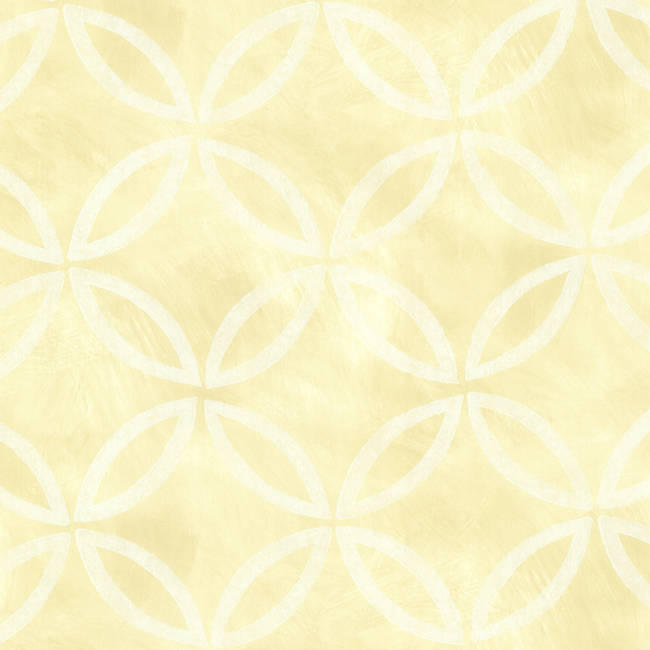 Cloverleaf Yellow Geometric HZN43122