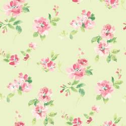 Captiva Mint Floral Toss HAS54597