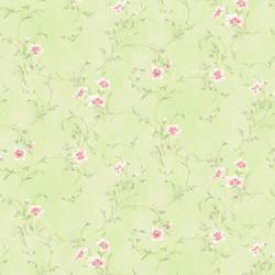 Capri Mint Floral Scroll HAS54637