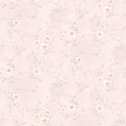 Capri Light Pink Floral Scroll HAS54638