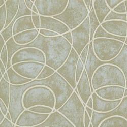 Novia Green Geometric Swirl HZN43025