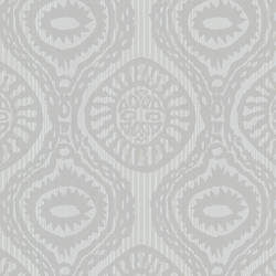 Marrakech Grey Medallion Stripe HZN43034