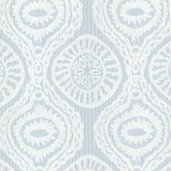 Marrakech Blue Medallion Stripe HZN43035