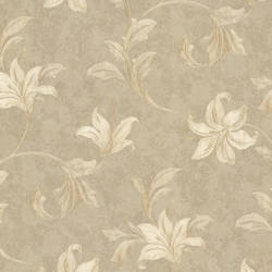 Palace Beige Floral Scroll 991-45869