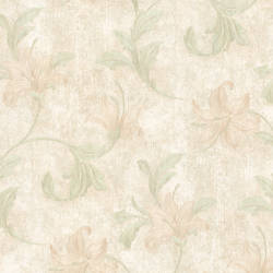 Palace Light Green Floral Scroll 991-45871