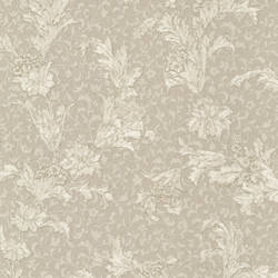 Empire Taupe Floral Scroll 991-68222