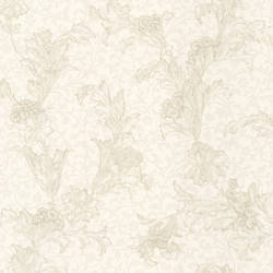 Empire Cream Floral Scroll 991-68224