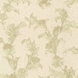 Empire Olive Floral Scroll 991-68225