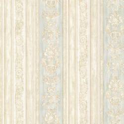 Majesty Mint Damask Stripe 991-68243