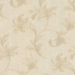 Palace Neutral Floral Scroll 991-68255
