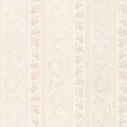 Sublime Champagne Scroll Stripe 991-68269