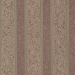Sublime Mauve Scroll Stripe 991-68271