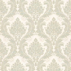 Mercutio Light Green Damask 993-59452