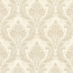 Mercutio Beige Damask 993-59454