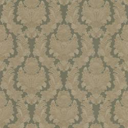 Capulet Green Silk Damask 993-68284