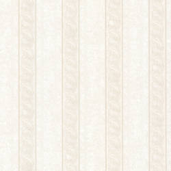 Montague Off-White Scroll Stripe 993-68605
