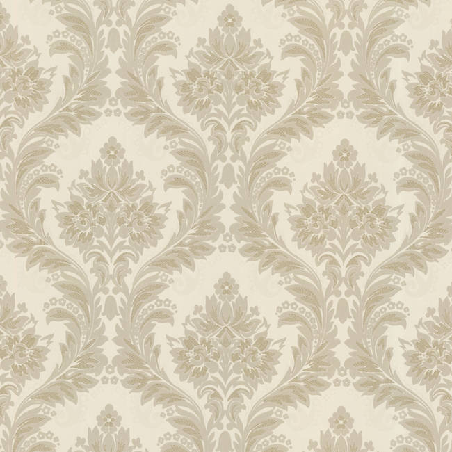 Mercutio Taupe Damask 993-68617