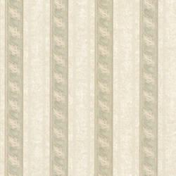 Montague Green Scroll Stripe 993-68608