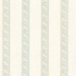 Montague Light Green Scroll Stripe 993-68607