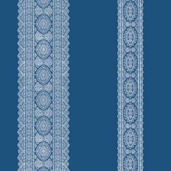 Brynn Indigo Paisley Stripe 1014-001832