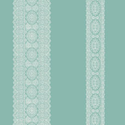 Brynn Turquoise Paisley Stripe 1014-001834