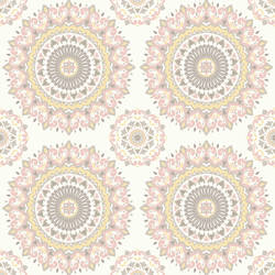 Gemma Light Pink Boho Medallion 1014-001805