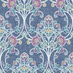 Willow Indigo Nouveau Floral 1014-001807