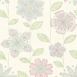 Maisie Green Batik Flower 1014-001811