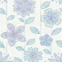 Maisie Indigo Batik Flower 1014-001812