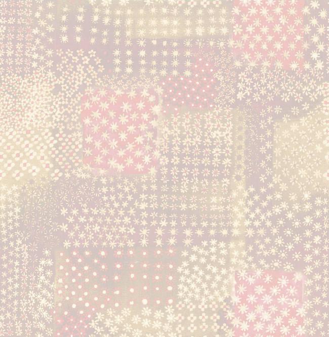 Flower Power Pink Patchwork 1014-001864