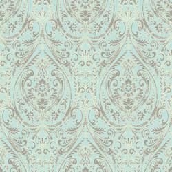 Gypsy Turquoise Damask 1014-001866