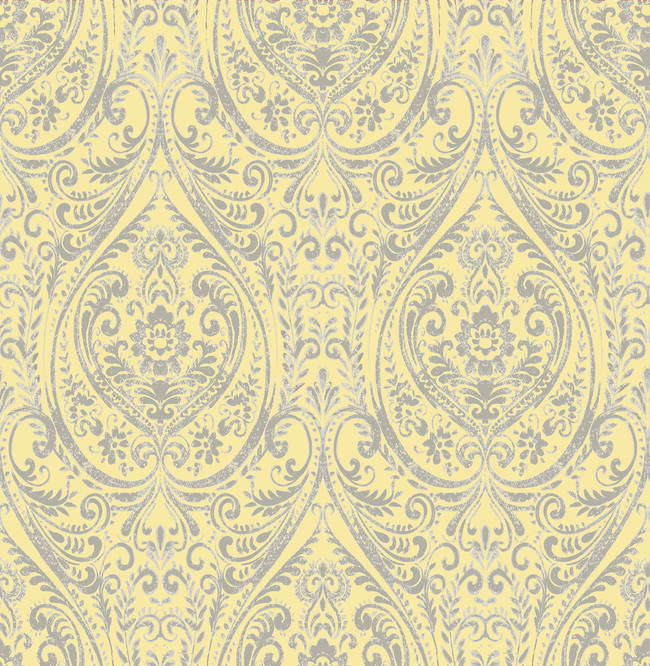 Gypsy Yellow Damask 1014-001868