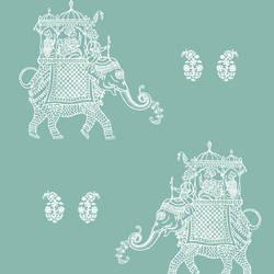 Ophelia Turquoise Elephant 1014-001839
