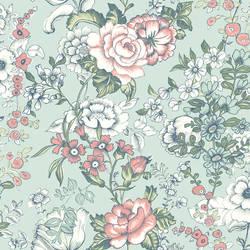 Ainsley Aqua Boho Floral 1014-001846